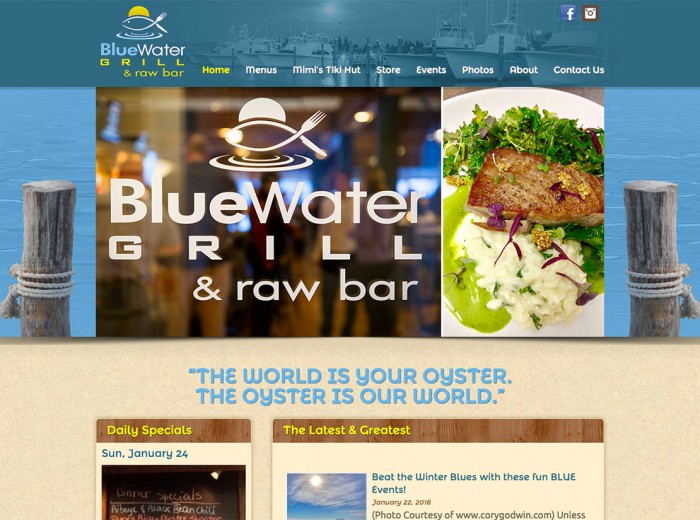 Blue Water Grill & Raw Bar