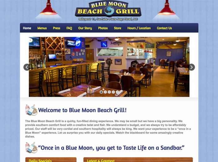 Blue Moon Beach Grill