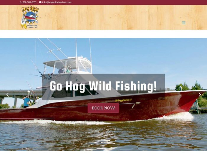 Hog Wild Fishing Charters Outer Banks