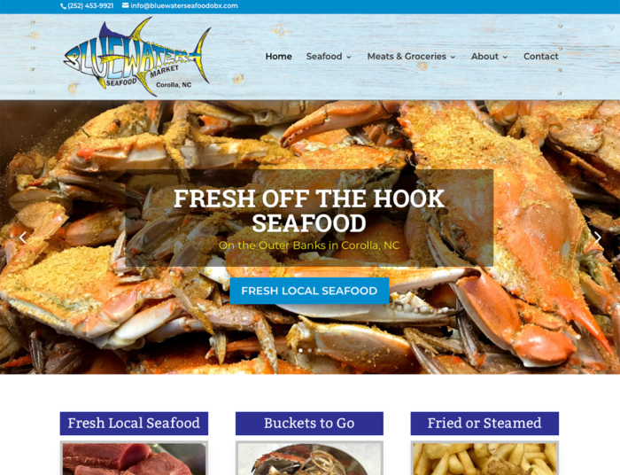 Bluewater Seafood OBX