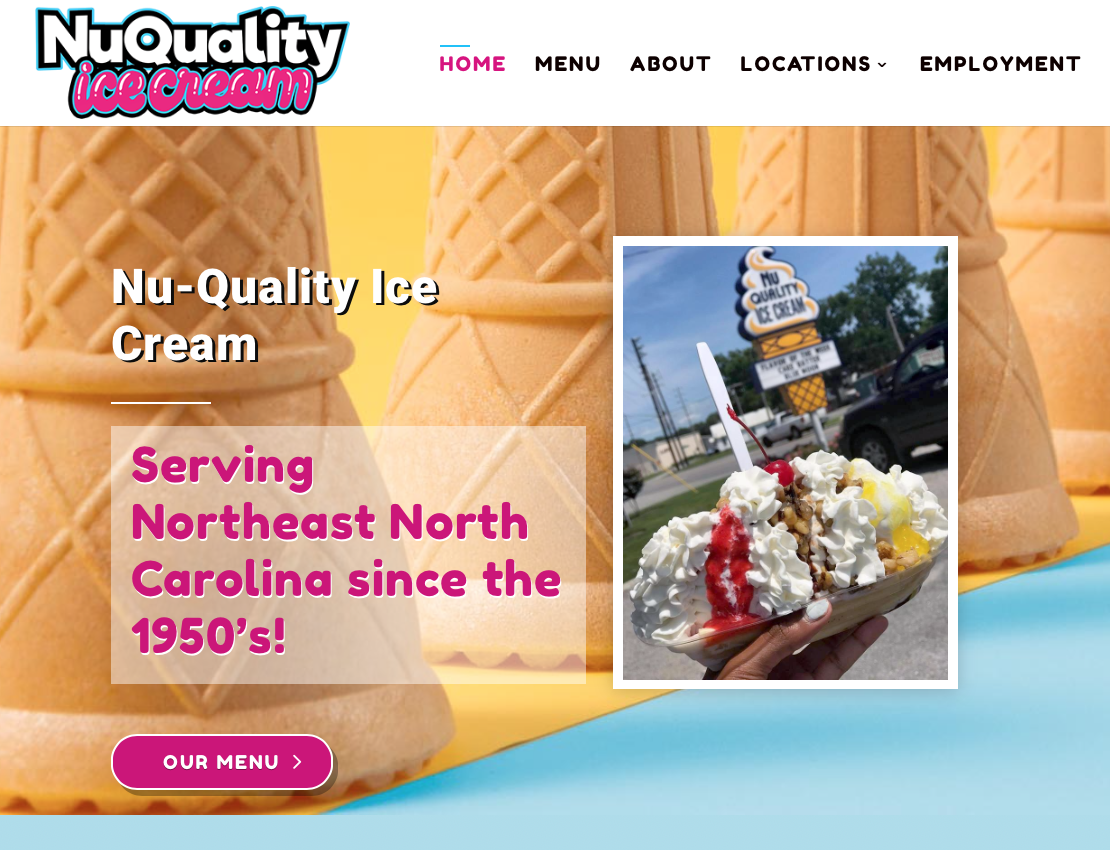 Outer Banks Ice Cream Website Outer Banks Internet
