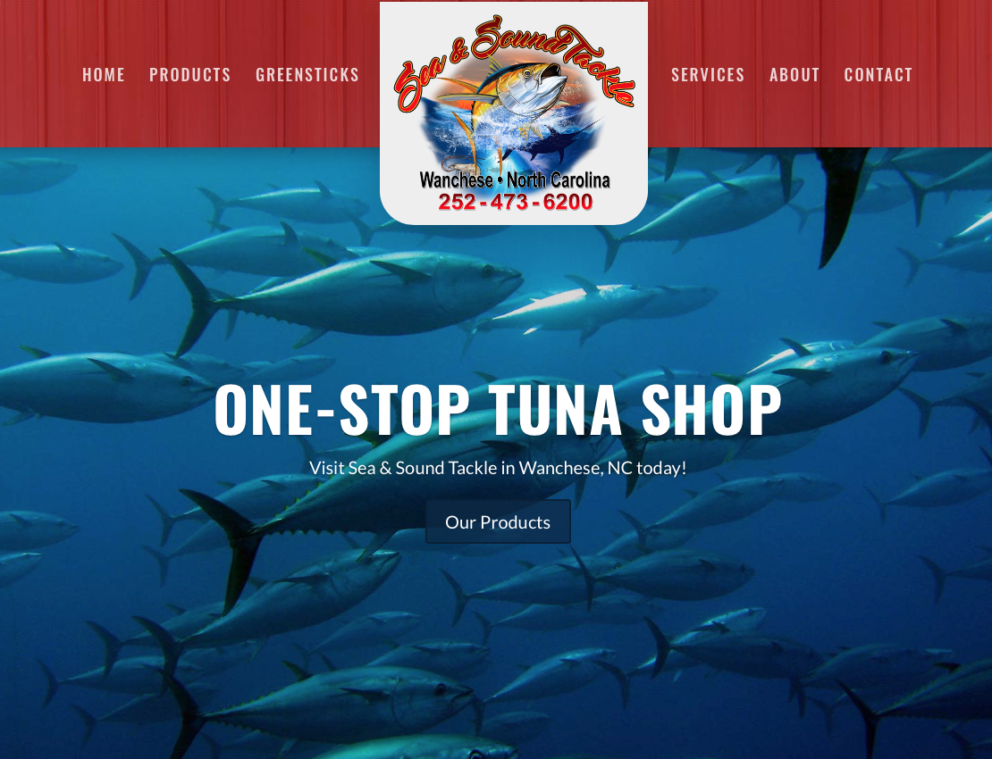 Sea and Sound Tackle Outer Banks Websites